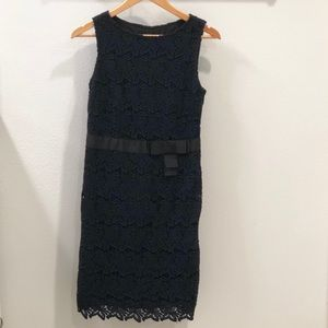 Talbots Crochet Lace All Over Dress in 4P